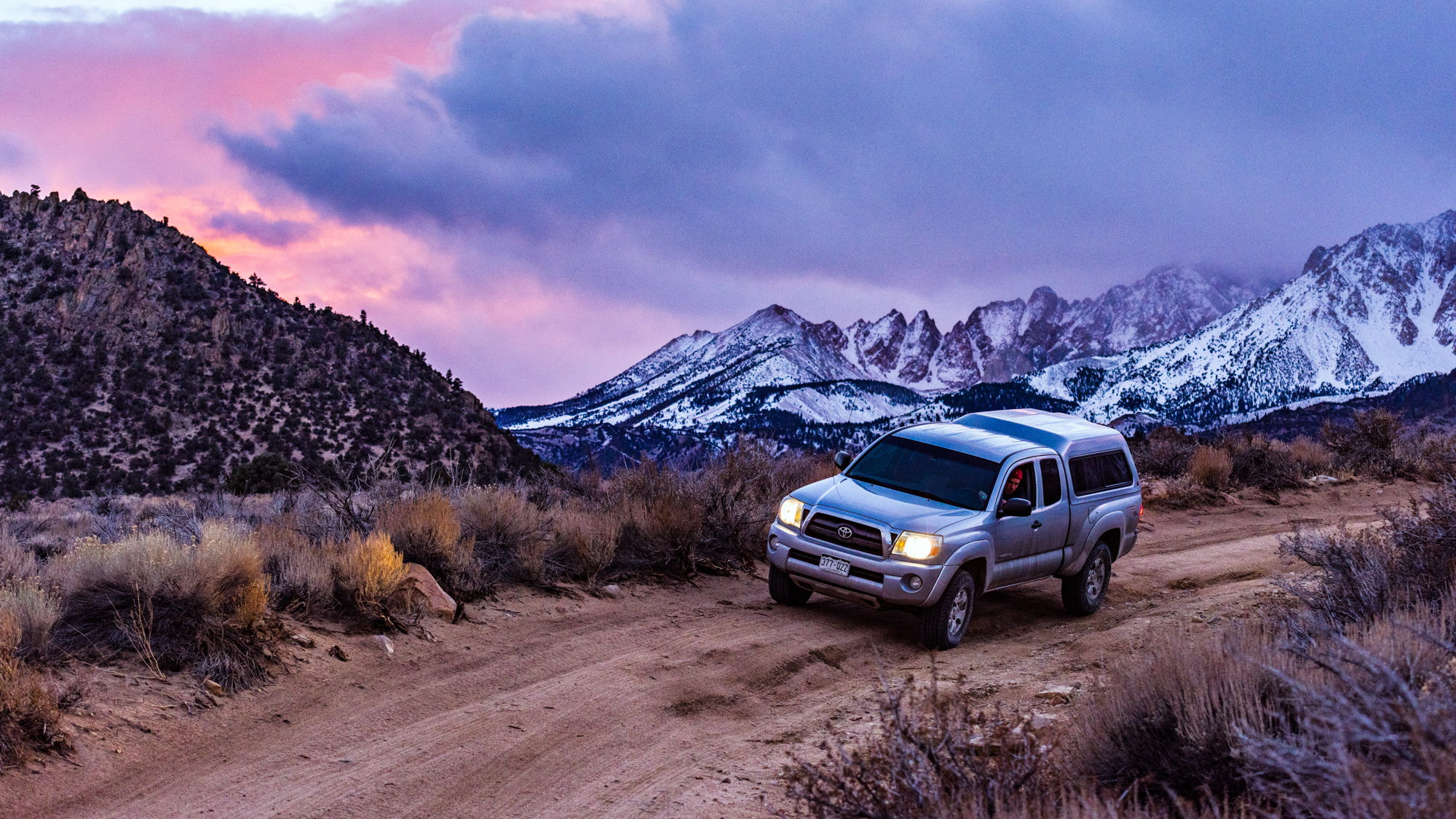 Off-roading in Bishop, California - Greg Mionske - Advertising and Editorial Photographer in Denver