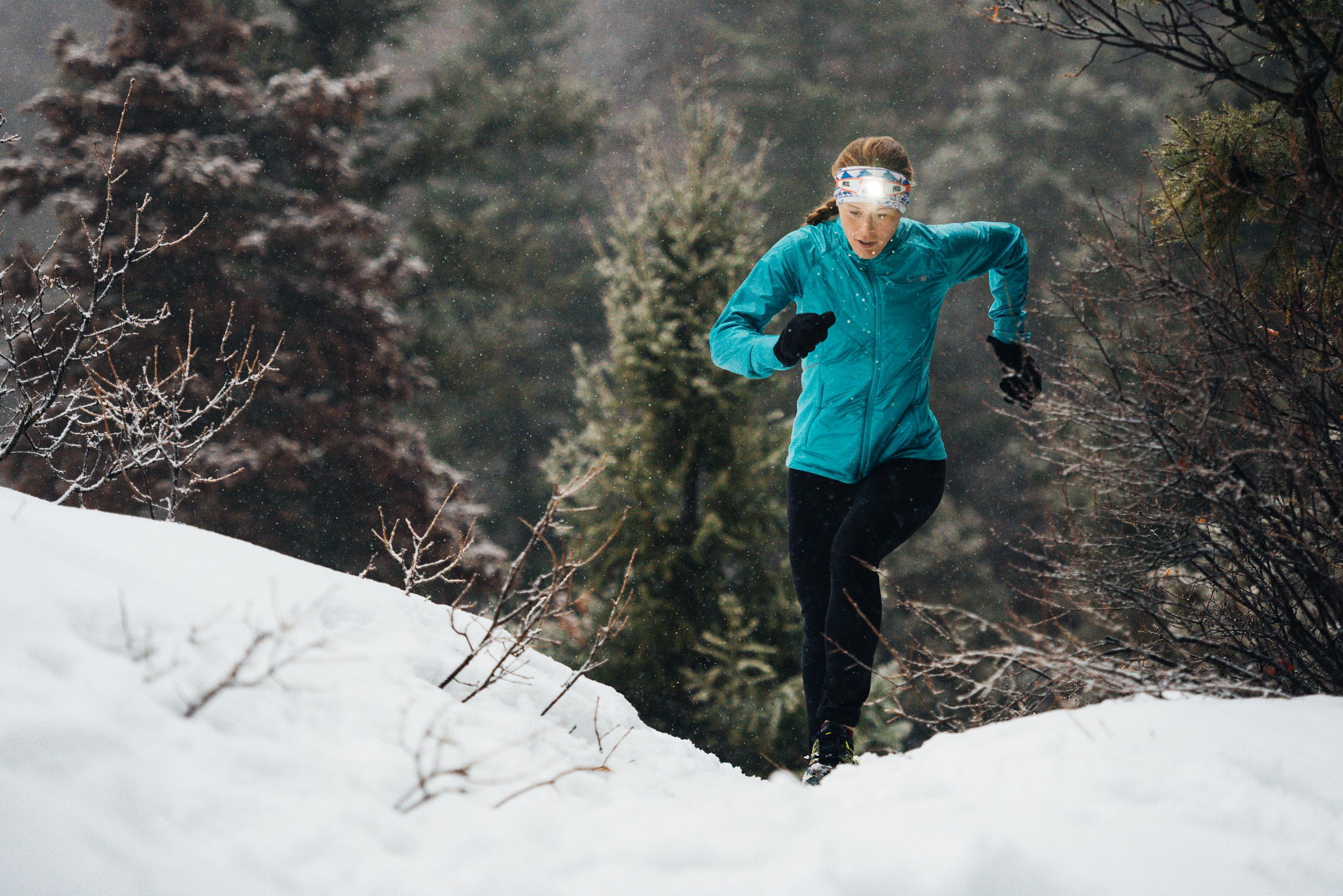 Winter Run for The North Face - Greg Mionske - Advertising and Editorial Photographer in Denver