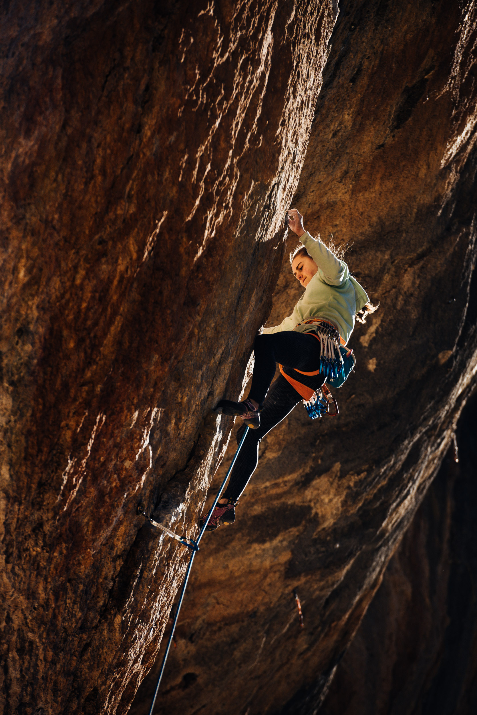 Margo Hayes for The North Face - Greg Mionske - Advertising and Editorial Photographer in Denver