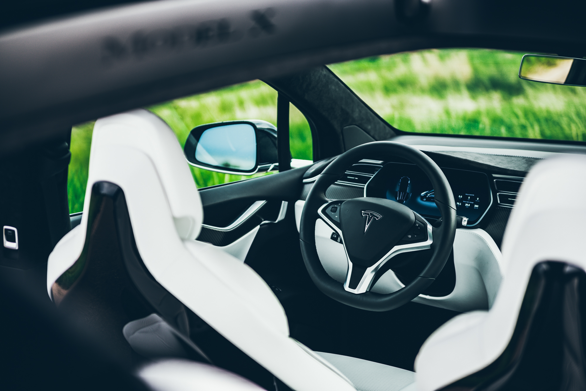 Tesla Model X Cockpit - Greg Mionske - Advertising and Editorial Photographer in Denver