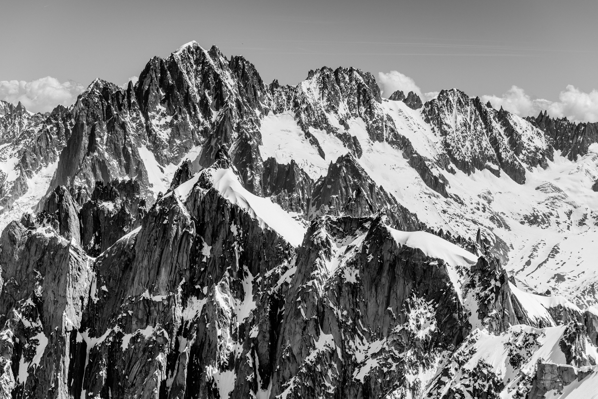 Mont Blanc Massif - Greg Mionske - Advertising and Editorial Photographer in Denver