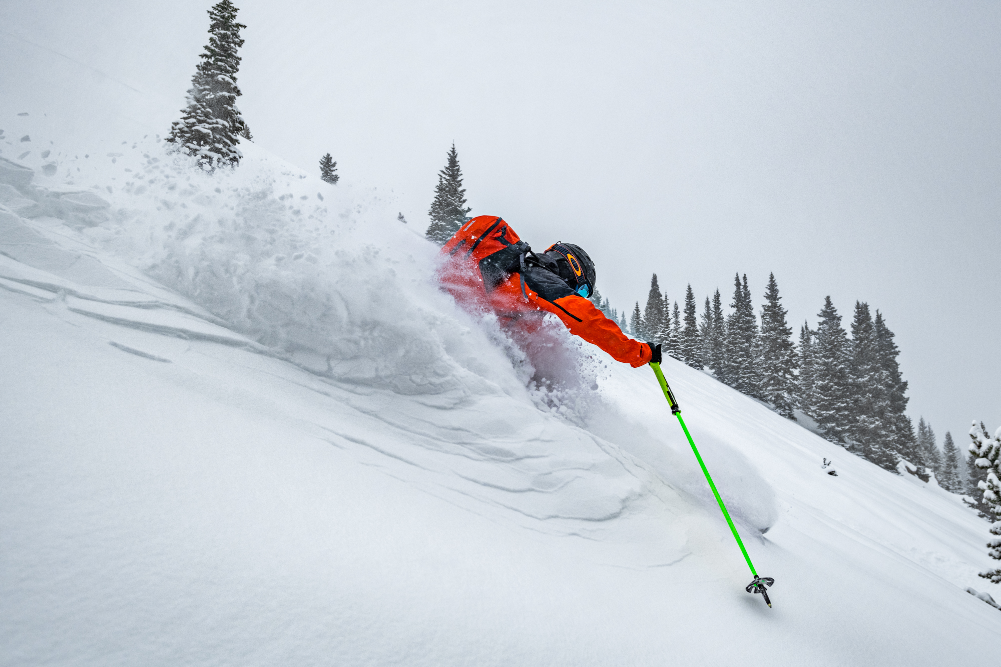 Nat Houston Skiing Berthoud Pass - Greg Mionske - Advertising and Editorial Photographer in Denver