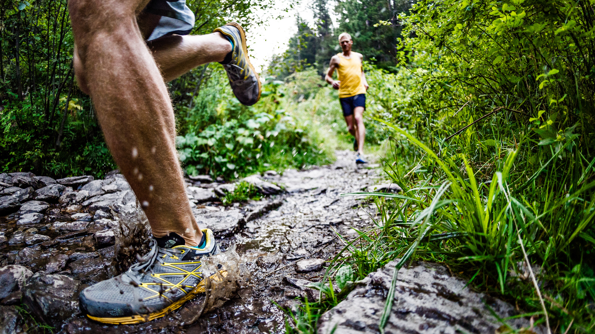 Trail Running Detail - Greg Mionske - Advertising and Editorial Photographer in Denver