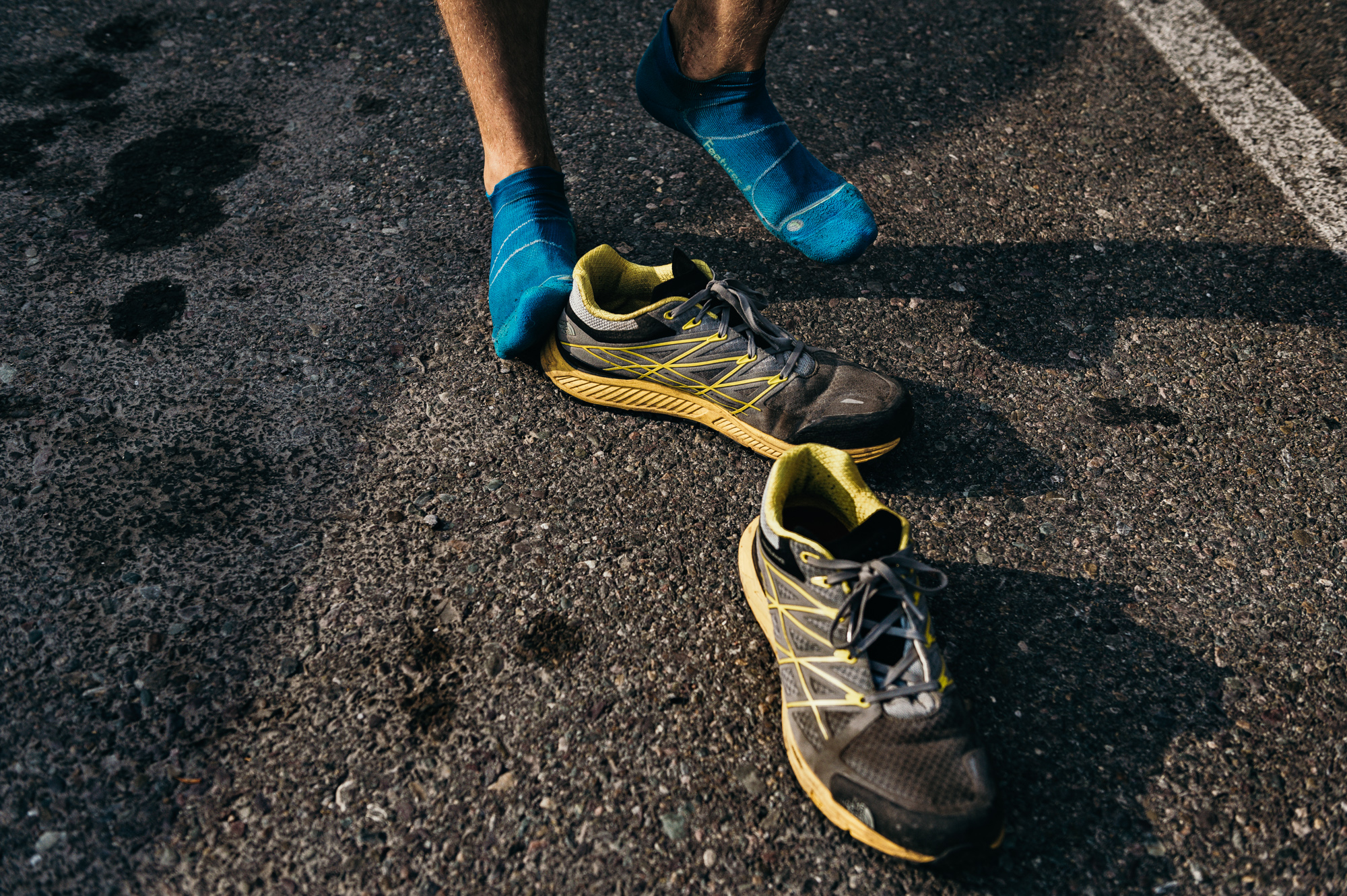Running Shoes Detail - Greg Mionske - Advertising and Editorial Photographer in Denver