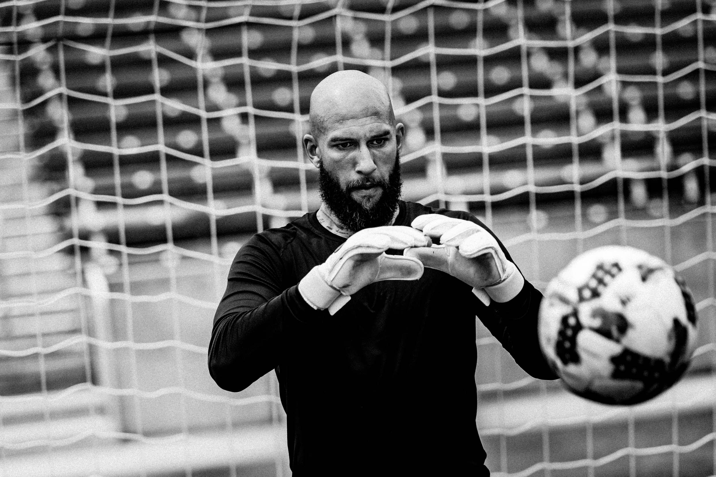 Tim Howard for Aleve - Greg Mionske - Advertising and Editorial Photographer in Denver