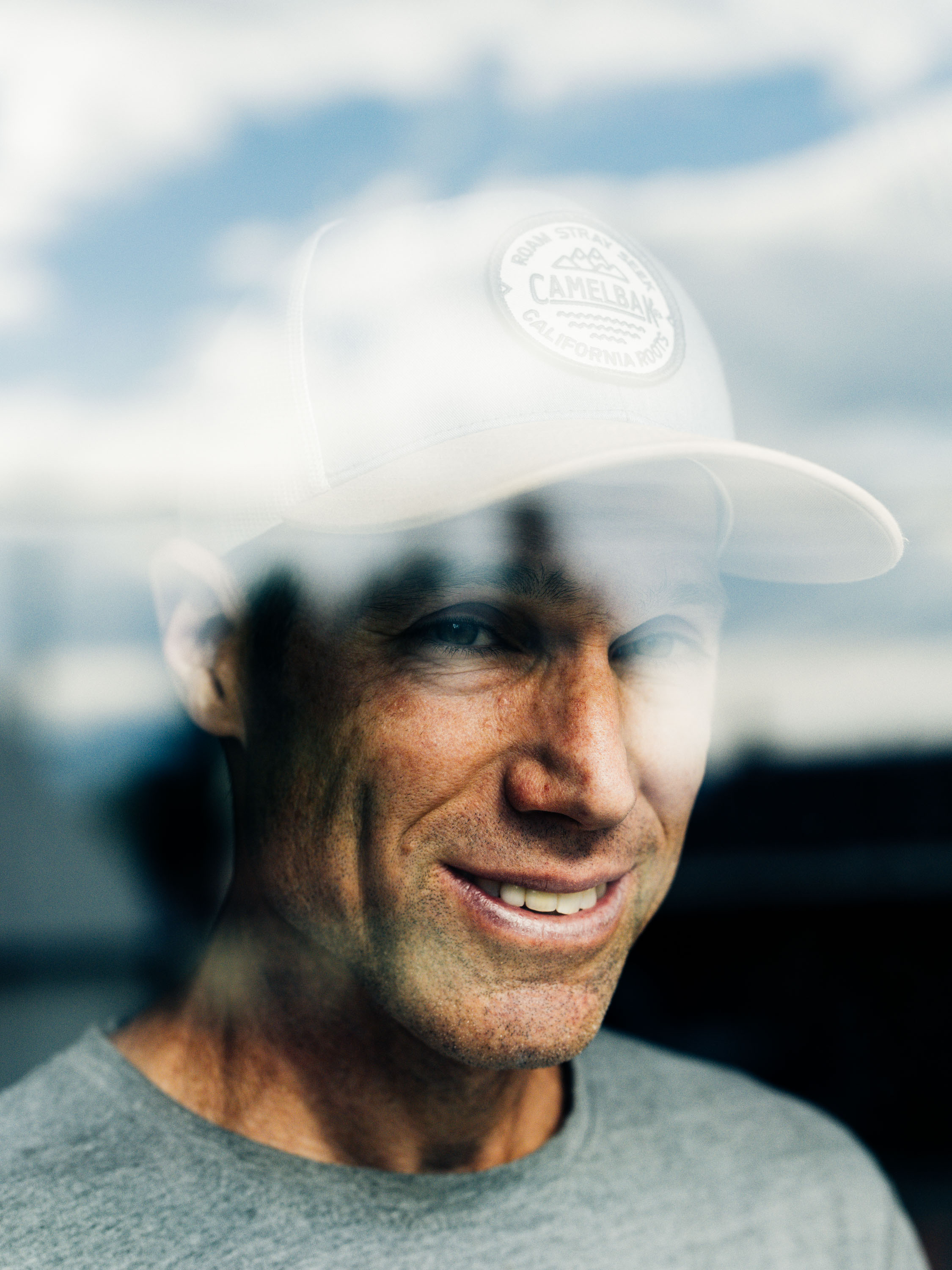 Portrait of Ultra Runner Dave Mackey in Leadville, Colorado
